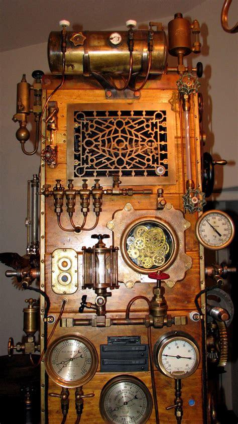 Computer Desk Mod 8ft Steampunk Frankenstein Computer Case Mod Slashgear