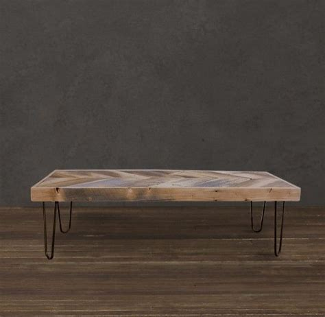 reclaimed wood coffee table metal legs handmade reclaimed wood arrow coffee table set on 13