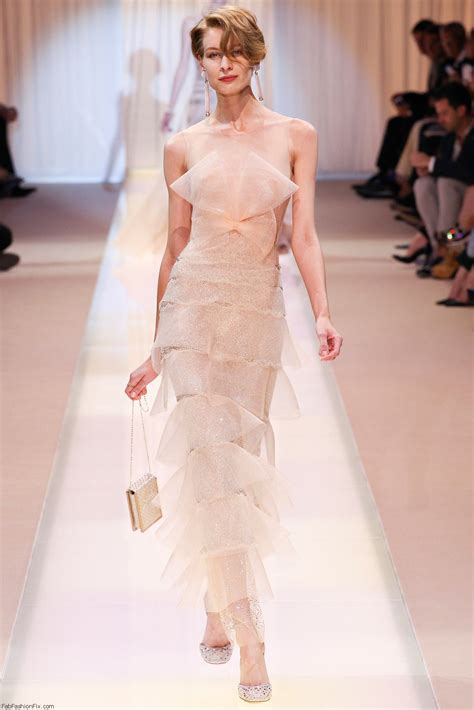 Armani Creates Wedding Wardrobe For And Bridesmaids by Armani Priv 233 Couture Fall Winter 2013 14 Collection Fab