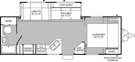 prowler travel trailers floor plans fleetwood prowler travel trailer floor plans 2007