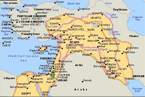 ancient middle east map mesopotamia assyria
