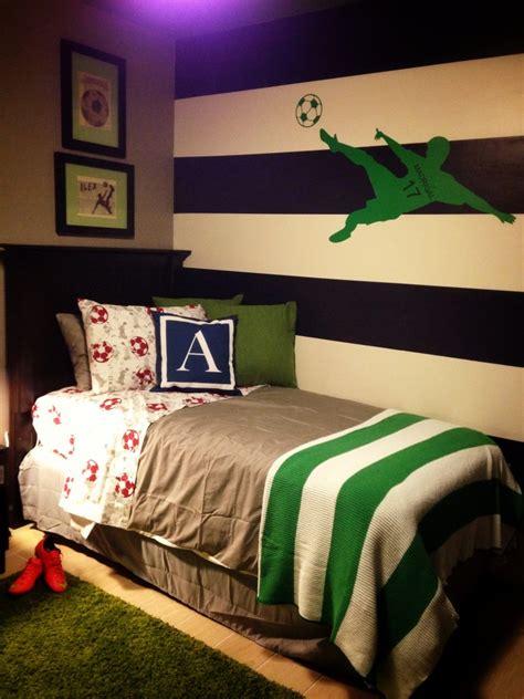 soccer bedrooms boys soccer bedroom project nursery
