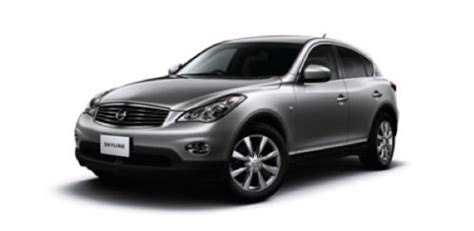 nissan crossover 2010 2010 nissan skyline crossover released