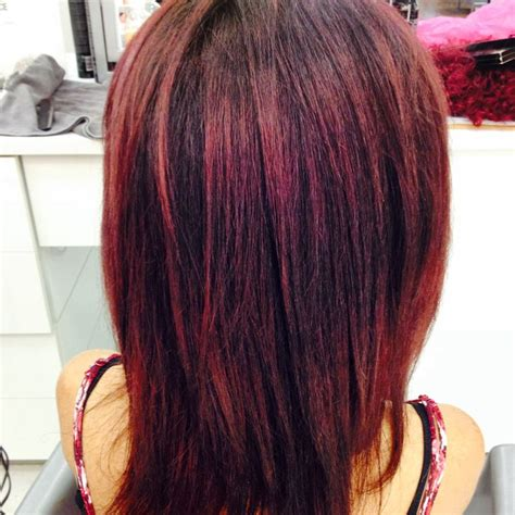 burgundy ombre medium length hair 63 best made by me images on pinterest colour blondes