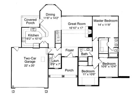 2000 sq ft bungalow floor plans 2000 square foot bungalow house plans home design and style