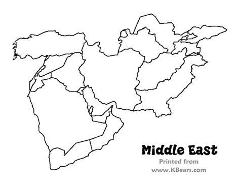 middle east map to color best photos of printable map of middle east middle east
