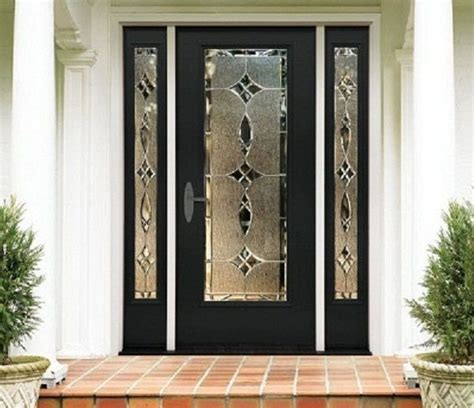 front door glass designs stylish front single door designs to better your home