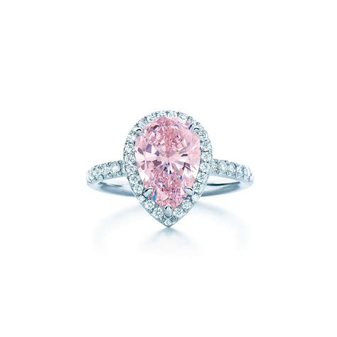 pink ring fancy pink ring wedding