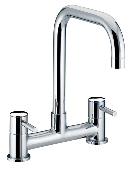sink taps kitchen bristan torre deck sink mixer tap chrome todsmc