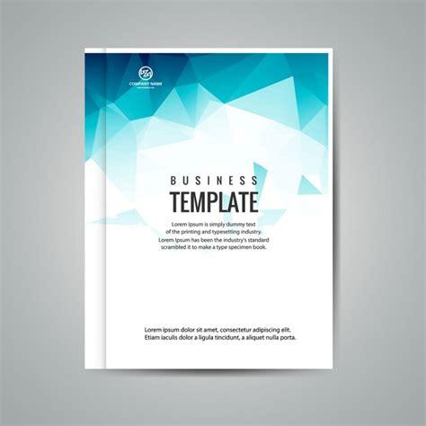 template cover buku word azul livreto neg 243 cio poligonal baixar vetores gr 225 tis
