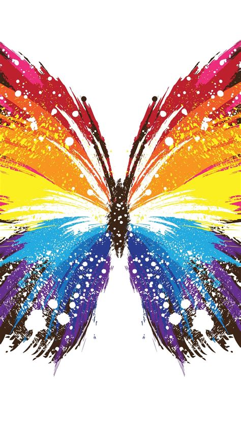 abstract butterflys mobile phone wallpapers  hd