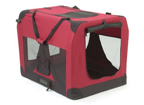 soft crate doggie solutions soft canvas crate carrier medium muddy paws