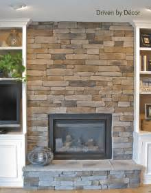 Fireplace Stones Building A Stone Veneer Fireplace Tips For Design