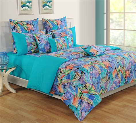 Bed Sheet And Comforter Sets Bed In A Bag Bed Sheet Comforter Pillow Cushion Cover 8 Pcs Bedding Set 9721 Ebay