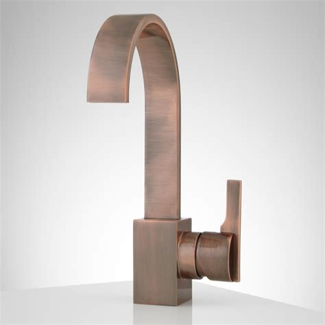 Copper Bathroom Fixtures Ultra Single Bathroom Faucet W Pop Up Drain Overflow Lead Free Antiq Ebay