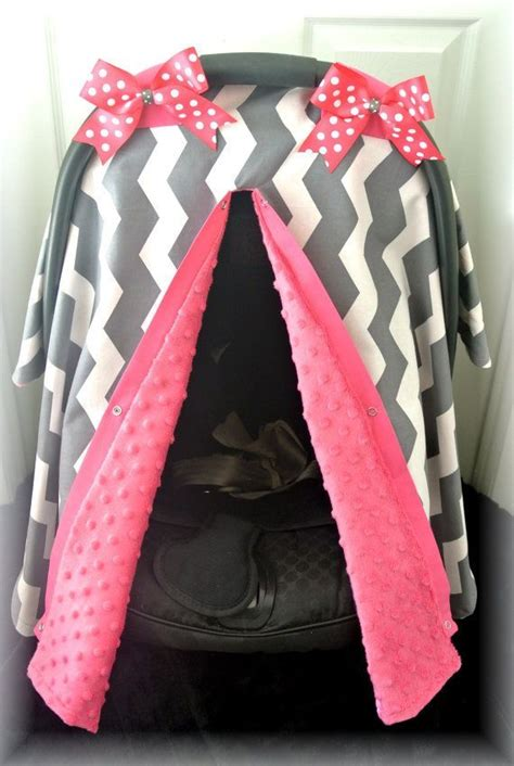 pink and gray car seat covers minky carseat canopy car seat cover teal pink