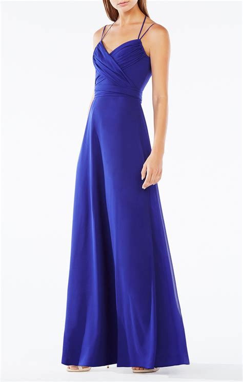 And Gown by Rosabelle Open Back Silk Gown