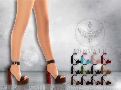 sims 4 platform heels sentate s monaco platform sandals
