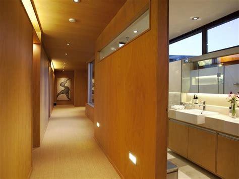 hallway bathroom perfectly peaceful designer pad
