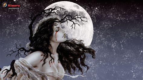 wallpapers luis royo mujer luna