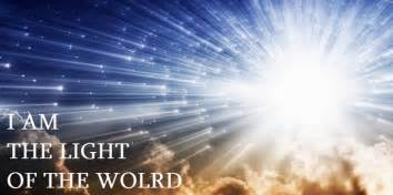 jesus light jesus said i am the light of the world what did he
