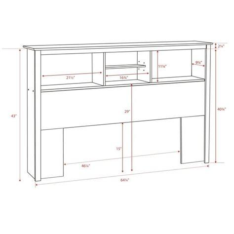 bookcase headboard white bookcase headboard in white wsh 6643