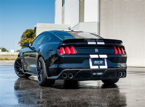 ford mustang shelby gt350 exhaust system performance