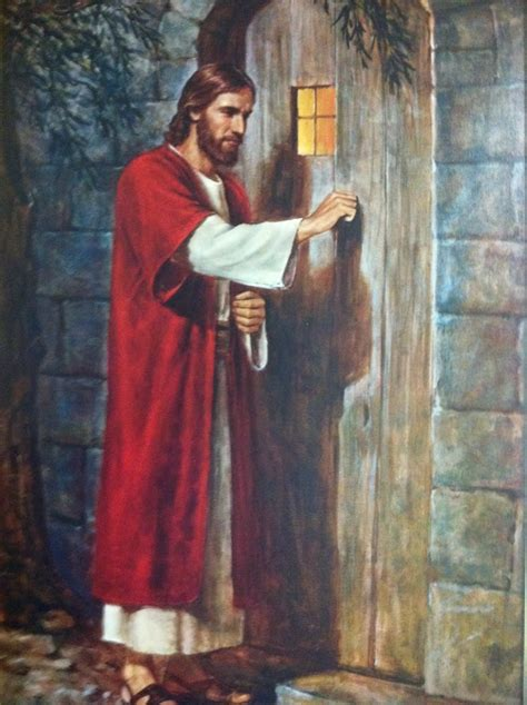 Jesus Knocking At The Door Meaning by Knocking At The Door Without A Handle Yelp
