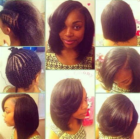 sew ins for an older woman 1000 ideas about short sew in hairstyles on pinterest