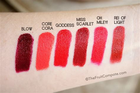Marc Le Marc Lip Creme Lipstick In marc le marc lip creme review swatch photos 6 the fruit compote