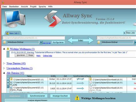 best free folder synchronization utility allway sync pro key license