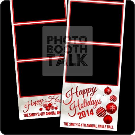 photo booth card template photo booth templates festival collections