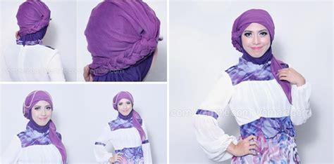 tutorial turban resmi cara pakai hijab pashmina turban terbaru