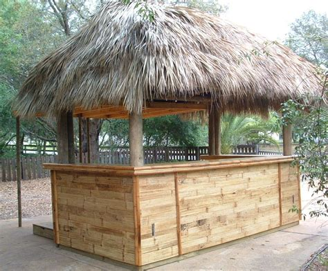 Tiki Bar Hut For by Palm Thatch Tiki Hut Concession Stand With Shutters And