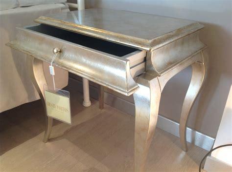 comodino argento comodino giusti portos modello ren 232 in legno finitura