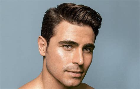 side part haircut template how to side part your hair
