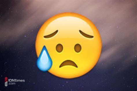 emoji kecewa ini 25 emoji yang kamu sering salah dalam mengartikan dan