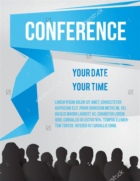 conference id card template 17 meeting invitation templates free sle exle