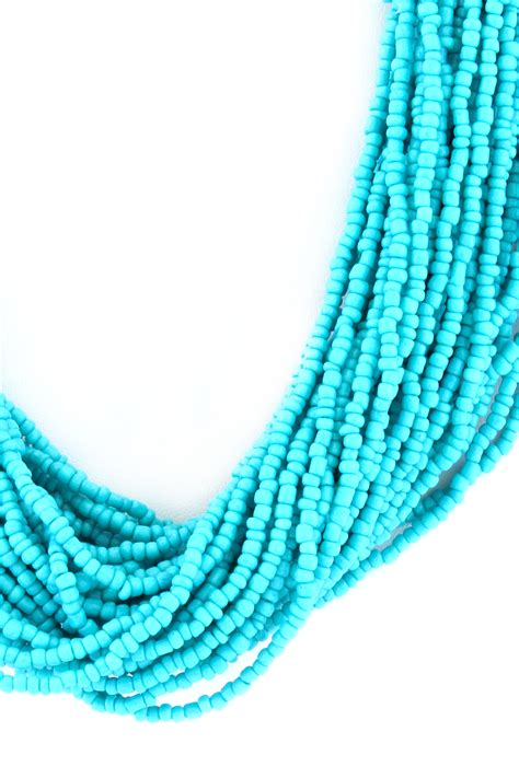 multi strand seed bead multi strand necklace necklaces