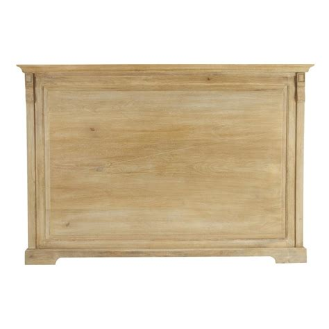 Solid Headboard solid mango wood headboard w 160cm naturaliste maisons du monde