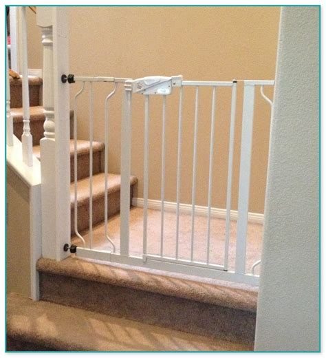 baby gate for bottom of stairs with banister bottom of the stairs baby gate best solutions of stairs