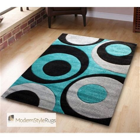 teal and black rug teal blue modern rug with black circles living room design ideas circles rugs
