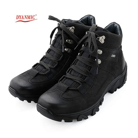 mens black leather walking boots mens winter hiking boots coltford boots