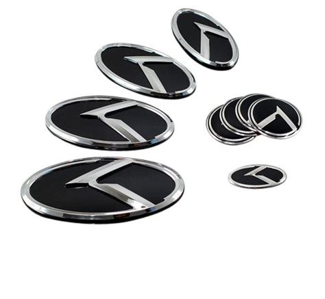 Kia Optima Emblem Set Kia K Logo Optima K5 3d Emblem 7pc Set Barbara R Daviswe