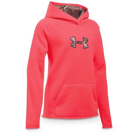 under armoir sweatshirts under armour girls icon caliber hoodie 666287