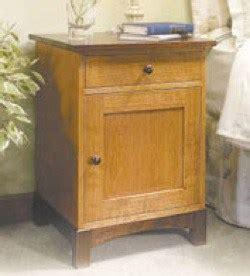 easy woodworking plans nightstand woodworker magazine