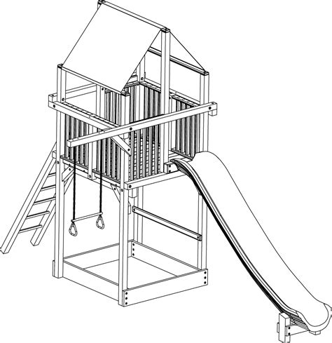 swing set drawing picture of a swing set cliparts co