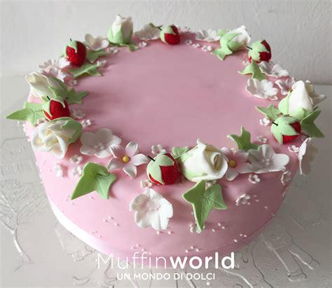 torta di compleanno con fiori torte di compleanno per adulti muffinworld