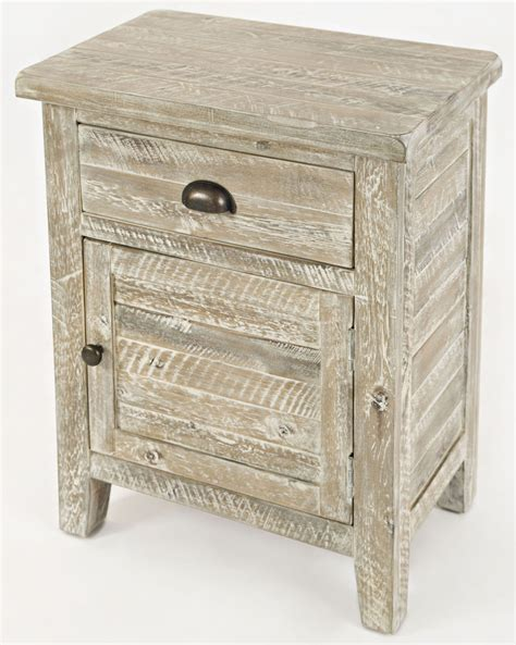 Grey Accent Table Artisan S Craft Washed Grey Accent Table From Jofran Coleman Furniture