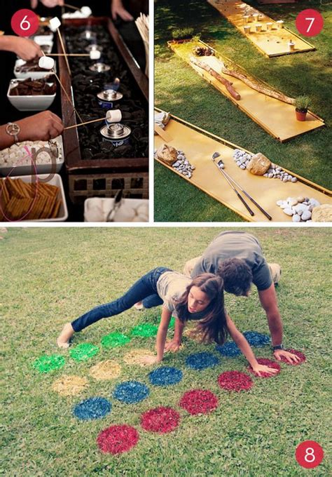 fun backyard party ideas roundup 10 fun diy backyard entertainment ideas